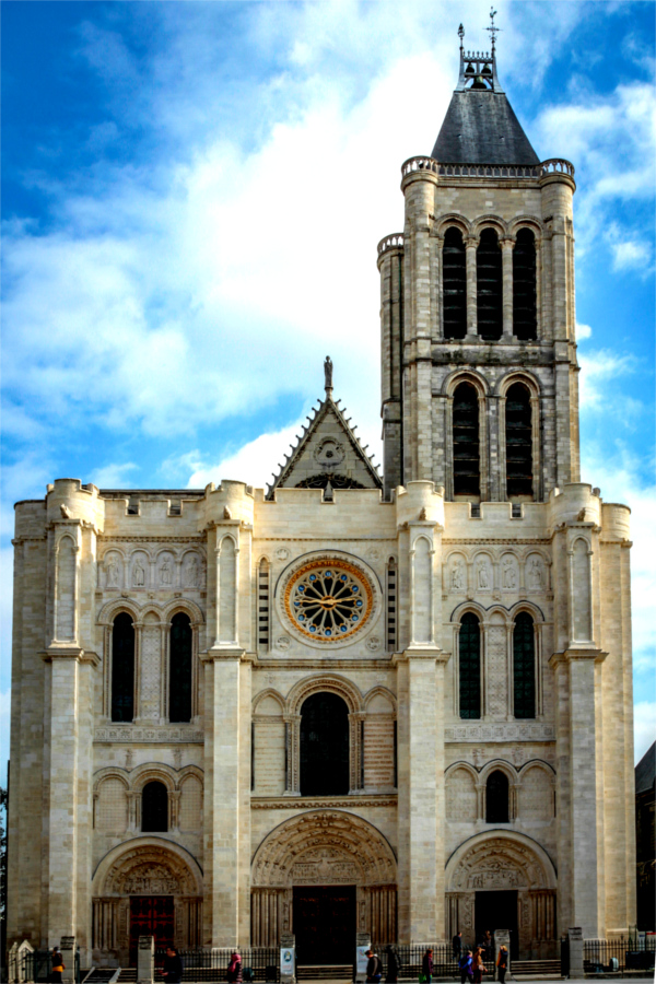 Basilique de Saint-Denis (près de Paris).
